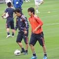 Photos: アップするうっちーと日本代表の皆さん4