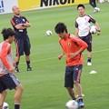 Photos: アップするうっちーと日本代表の皆さん6
