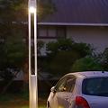 Photos: 駐車場の灯り(1)