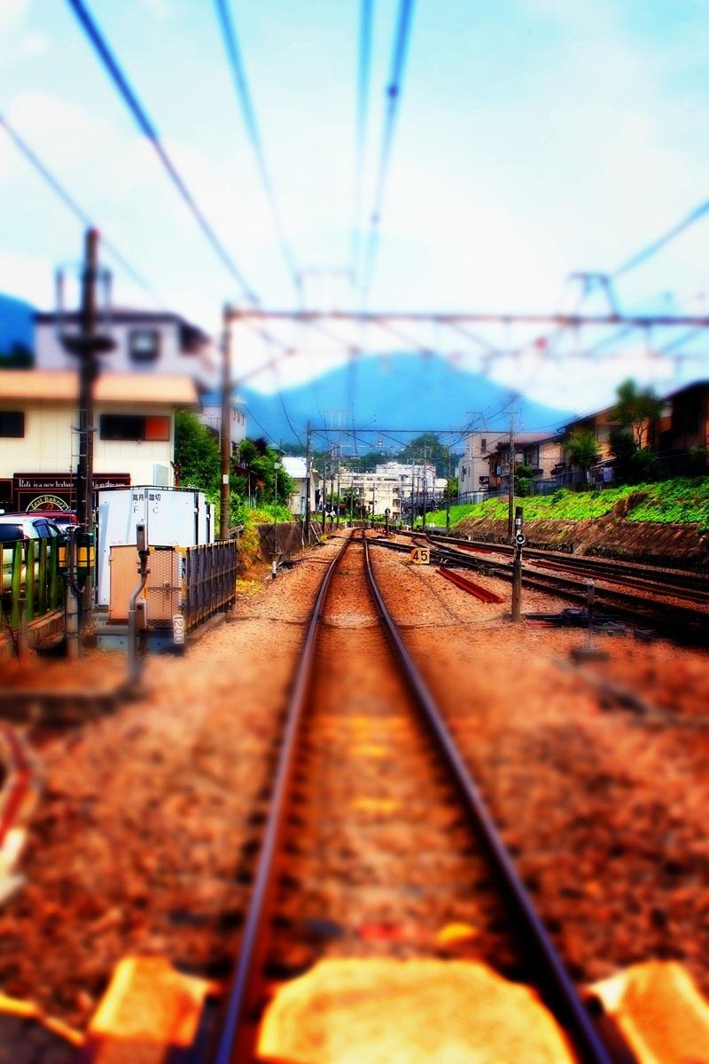 ミニチュア風(線路)