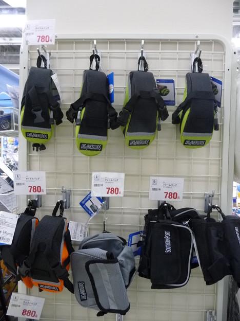 サイクルバッグ各種780円