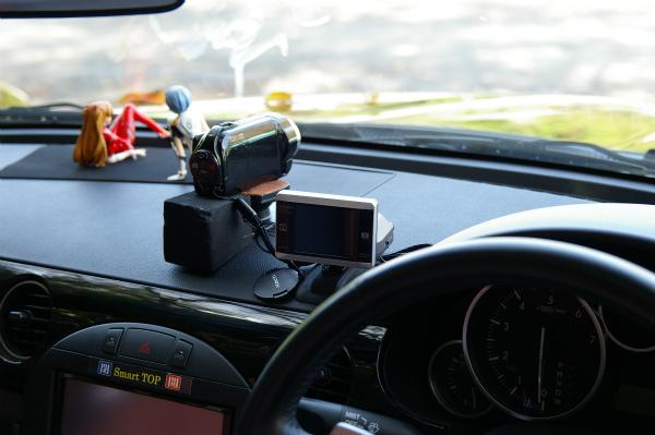 車載カメラの装着方法も参考に