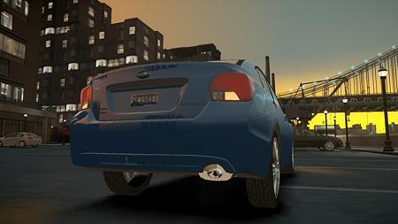 2012 Subaru Impreza Sedan リア