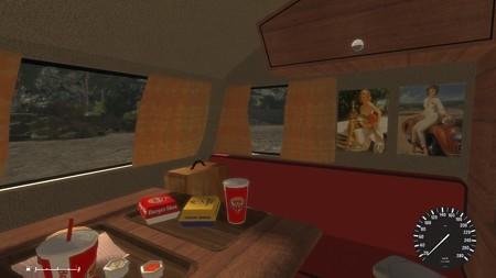 Saab Caravan Motorhome後部座席